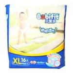 贝爱多快吸透气婴儿纸尿裤XL16
