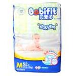 贝爱多快吸透气婴儿纸尿裤M52
