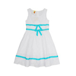 加菲猫女童连衣裙GHCD35403漂白120