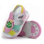 哈利宝贝男女凉鞋透气软底婴童鞋B188粉色19码/鞋子内长145mm