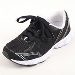 兔仔唛TUZAMA新款男童童鞋透气休闲运动网布鞋黑色31码