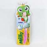 312青蛙王子妙奇蛙儿童护龈洁齿牙刷1支