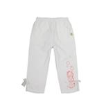 加菲猫女童针织七分裤GPWD35403白色105