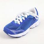 兔仔唛TUZAMA新款男童童鞋透气休闲运动网布鞋蓝紫色34码