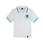 加菲猫男童针织POLO领T恤GTWE045101白色160