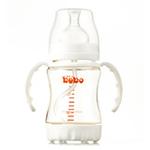 bobo乐儿宝高级塑料防吐安全自动奶瓶150毫升BP345