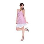 优加咔哇伊百分之五十彩色银纤维吊带衫YD005粉色XL
