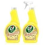 晶杰厨房强效清洁剂(清雅恬姜)+补充瓶装(500g+500g)