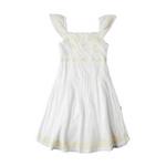 派克兰帝女童连衣裙LHCD35213白色110