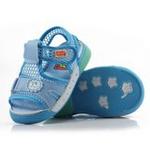 哈利宝贝夏季透气软底防滑男女童凉鞋B100月色20码/鞋垫实长150mm