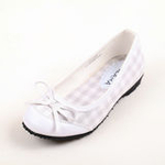兔仔唛TUZAMA大女童新款女童皮鞋单鞋公主皮鞋白色30码