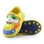哈利宝贝女童凉鞋夏季童鞋软底防滑B183黄色20码/15cm