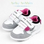 babybubbles婴童鞋156-1002-121白/灰23/150