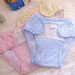 小富兰克竹纤维透气婴儿尿裤1054/粉色/M