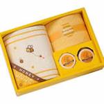 日本内野UCHINO小蜜蜂套装毛巾礼盒2