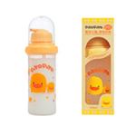 黄色小鸭吸管型2用奶瓶160ccGT83195