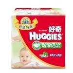 好奇超厚倍柔婴儿湿巾80抽补充装*2