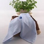 AngelDream安歌吉姆70%竹纤维小方巾蓝色两条装AGZD1A-B
