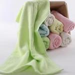 AngelDream安歌吉姆100%竹纤维小毛巾绿色AGZP1B-G
