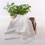 AngelDream安歌吉姆70%竹纤维小方巾白色两条装AGZD1A-W
