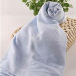 AngelDream安歌吉姆70%竹纤维大浴巾蓝色AGZD3B-B