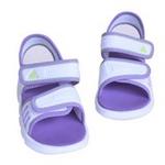 阿迪达斯/adidas夏季婴童凉鞋V21632亮白/超群紫/极致亮黄150