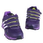 阿迪达斯小童网面透气运动鞋G62490深紫罗兰/实验紫/白金属185