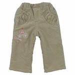 E-baby如意宝贝甜美童话保暖长裤E115235卡其/110