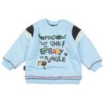 E-baby如意宝贝探险小英雄保暖上衣E115155浅蓝/110