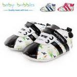 babybubbles休闲系列婴童鞋054-6095-123黑色/19
