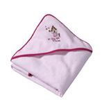 儿童浴巾(粉色)