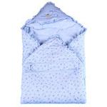 童泰婴儿棉抱被3321蓝