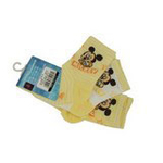 Disney迪士尼米奇/米妮三件组宝宝/儿童袜(三双装)黄色 16/18cm