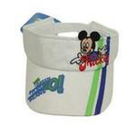 Disney迪士尼儿童帽海军风立体空顶帽6070白色48cm