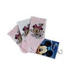 Disney迪士尼米奇/米妮三件组宝宝/儿童袜(三双装)粉色12/14cm
