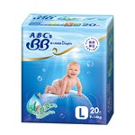 ABC\'s BB纸尿裤大号20片
