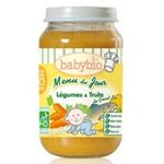 法国Babybio有机蔬菜鳟鱼泥