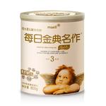 每日金典名作奶粉 韩国进口婴幼儿牛奶粉3段800g听装