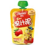 苹果草莓果汁泥120g