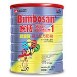 瑞士Bimbosan宾博原装进口婴儿配方奶粉 1段听装