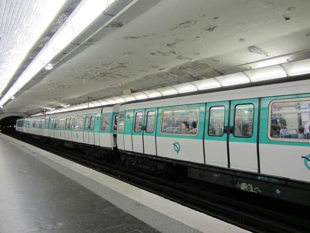 巴黎的火车站和地铁