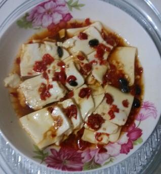 剁椒蒸豆腐