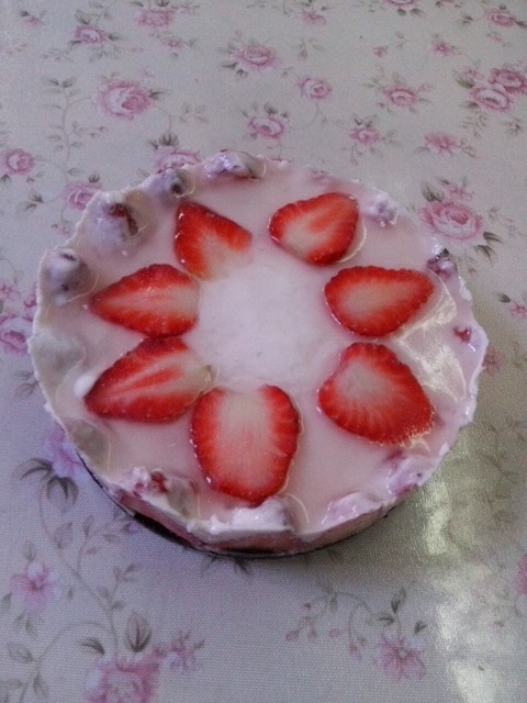 结婚两周年纪念日自己做慕斯蛋糕