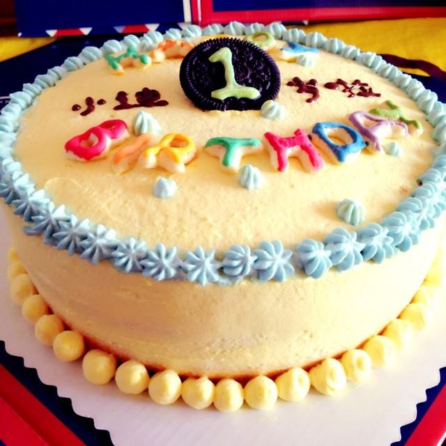 宝贝一岁生日蛋糕