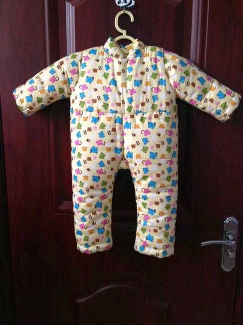 小宝宝的纯手工棉袄棉裤