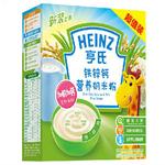 亨氏铁锌钙营养奶米粉400g