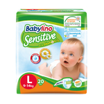 babylino贝丽欧全效呵护 纸尿裤L号20片装(BabyBox派发为4片装)