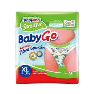 babylino贝丽欧全效呵护婴幼儿拉拉裤XL号16片装