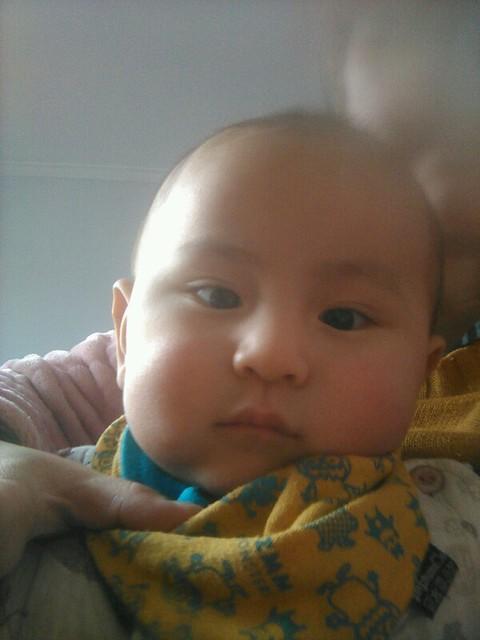 可爱婴儿萌手机壁纸