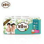宝松怡BOSOMI婴儿纸尿裤 加大号XL36片 天然纯棉 韩国原装进口